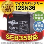 ショッピングバッテリー 12SN36 初期補充電済 純正品と完全互換 安心の動作確認済み製品 SEB35対応 バッテリー溶接機に対応 安心保証付き 在庫あり・即納