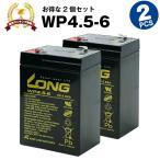 Yahoo!バッテリーストア.com乗用玩具 WP4-6【お得 2個セット】(産業用鉛蓄電池) 新品 LONG 長寿命・保証書付き 電動ポケバイなど対応 サイクルバッテリー