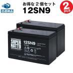 12SN9 お得 2個セット 純正品と完全互換 安心の動作確認済み製品 USPバッテリーキットに対応 安心保証付き