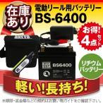 充電器+リチウムバッテリー(5000mAh)+USBチャージャー+防水キャリーケース セット スーパーナットリチウムST5000セット 電動リール対応 フィッシング用