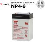 乗用玩具 NP4-6 (SN4-6 WP4-6 NP4-6 PE6V4.5 に互換) ユアサ(YUASA) 長寿命・保証書付き サイクルバッテリー