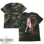 NO COMMENT PARIS ノーコメントパリ S/S TEE T Shirt CAMO JP tattoo suspender LTN203. JAPAN LIMITED カッコイイ おしゃれ カッコイイ モテる STREET