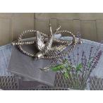 シルバー製 ツバメ 燕 アンティークブローチ