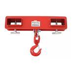 フォークリフト用吊りフック 2.5t 2500kg フォークリフト爪 吊りフック フック アタッチメント 吊り上げ フォークリフト フォークフック