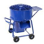 モルタルミキサー 青 混合量80L ドラ