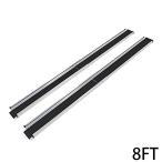 ショッピング解消 伸縮アルミスロープ スロープ長さ約244cm 幅約15.5cm 耐荷重約270kg 2本セット 持ち運び可能 完成品 収納ケース付 介護用品 脱輪防止 車椅子用 車イス用 8FT