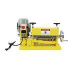 電動ワイヤーストリッパー 1.1kw ケーブルストリッパー ケーブル皮むき機 被覆剥き機 剥線機 被覆線 剥き 皮むき器 電線皮むき機 1.5mm〜35mm イエロー