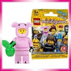 レゴ (LEGO) ミニフィギュア シリーズ12 ブタの着ぐるみを着た男 未開封品 (LEGO Minifigure Series12 Piggy Guy) 71007-14