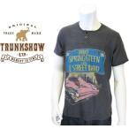 正規品【TRUNK SHOW-トランクショー】Bruce Springsteen (ブルース スプリングスティーン)  ヘンリーネック 半袖 バンド Tシャツ カットソー