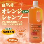 オレンジシャンプーはこの夏おすすめ。頭皮の毛穴に詰まった余分な皮脂をしっかり落として爽やか。アズマ商事 詰替徳用 送料無料