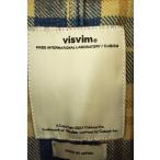 VISVIM(ビズビム) アウター メンズ サイズ1 14AW LUGLI JKT INDIGO CHECK ジャケット 中古 ブランド古着バズストア
