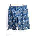 アンダーカバー ダブルタップス UNDERCOVER × wtaps パンツ メンズ サイズJPN:L TEASTER 総柄ハーフパンツ 中古 ブラン