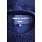 コムデギャルソンオム COMME des GARCONS HOMME ニット・セーター メンズ サイズJPN:L AD2018  パッチワークモックネ