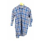 インディヴィジュアライズドシャツ individualized shirts シャツワンピース レディース サイズUK:14 七分丈 シャツワンピース