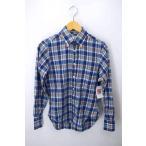 インディビジュアライズドシャツ INDIVIDUALIZED SHIRTS アメリカ製 チェックシャツ  中古 ブランド古着バズストア 201120