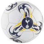 トッテナム チームオフィシャル クレストサッカーボール 5号サイズ/Tri-Spear ホワイト