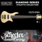 シェクター SCHECTER ベース / STILETTO CUSTOM 6 | AD-SL-CTM-6 スティレットカスタム6 6弦ベース ナチュラル ダイヤモンドシリーズ 2016年モデル 送料無料