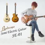 Landscape SE-01/N ランドスケープ SE01 Nylon   エレクトリックガットギター、チェンバー構造ボディー、ギグバッグ付属 カラー:2色 正規品 送料無料