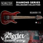 シェクター SCHECTER / Hellraiser C-7 FR BCH ヘルレイザーC7 フロイドローズ 7弦ギター ダイヤモンドシリーズ 送料無料