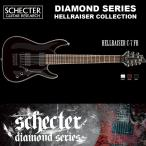 シェクター SCHECTER / Hellraiser C-7 FR BLK ヘルレイザーC7 フロイドローズ 7弦ギター ダイヤモンドシリーズ 送料無料