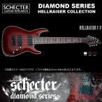 シェクター SCHECTER / Hellraiser C-8 BLK ヘルレイザーC8 ブラック 8弦ギター ダイヤモンドシリーズ 送料無料