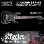 シェクター SCHECTER / Hellraiser C-8 FR BLK ヘルレイザーC8FR ブラック 8弦ギター ダイヤモンドシリーズ 送料無料