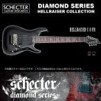 シェクター SCHECTER / Hellraiser C-8 FR BLK ヘルレイザーC8FR ブラックチェリー 8弦ギター ダイヤモンドシリーズ 送料無料