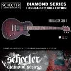 シェクター SCHECTER / HELLRAISER SOLO-II BLK ヘルレイザー ソロ2 ブラック ダイヤモンドシリーズ 送料無料