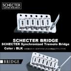 SCHECTER Synchronized Tremolo Bridge   シェクター ギター用 シンクロナイズド・トレモロ・ブリッジ カラー:ブラック(BLK)送料無料