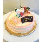 クリスマスケーキ4号(クリスマスバタークリームケーキ4号:12cm)2016 BOLO自家製手作りケーキ