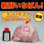 国産豚ホルモン(ミックス) 300g 自家製みそダレ付属 (BBQ バーベキュー 焼き肉 焼肉) (もつ鍋 もつ煮込み)