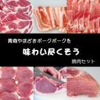 其它 - 焼肉セット  (お試し 食べ比べ) 豚肉(やまざきポーク青森県産) 900g 自家製タレ付属 (BBQ バーベキュー 焼き肉)