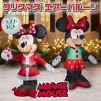 ディズニー ミニーマウス クリスマス エアーバルーン イルミネーション バルーン デコレーション