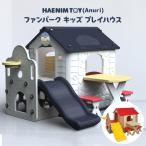 HAENIM TOY ファンパーク キッズ プレイハウス キッズハウス すべり台 遊具