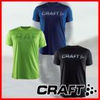 クラフト プライムロゴ 半袖Tシャツ インナー 吸汗 速乾 ランニング ジョギング トレーニング