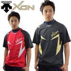 デサント DESCENTE XGN ハイブリッドシャツ 半袖 ピステシャツ プラシャツ 汗出し 汗だし トレーニングジャケット トレーニングウエア DBX-3601A