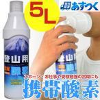 ムトー MUTOH 携帯用酸素スプレー 登山用濃縮酸素 5リットル 5L 酸素缶