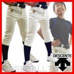 5%OFFクーポン デサント 野球 少年用ユニフォームパンツ ショートフィット
