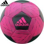 アディダス サッカーボール 4号球 ネメシス ハイブリッド 貼り ピンク JFA検定球 2019後期 AF4665P フットボール