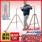 折りたたみ鉄棒 赤 子供用 室内・屋外使用可