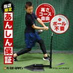 野球 スウィングパートナー 硬式 軟式 ソフトボール対応 バッティングティースタンド 練習用品 FBT-351 フィールドフォース