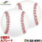 野球 フィールドフォース 硬式練習球 2個売り Aグレード 牛革 天然皮革 硬式球 硬球 ボール 中学硬式 高校野球 FKB-35015