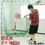 2.0m x 1.6m 軟式 野球用 ハイ ワイド  バッティングネット ターゲット 固定用ペグ付き