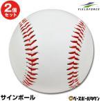 野球 サインボール 硬式球デザイン 1個売り 個包装済み サイン用ボール FSB-0905 フィールドフォース