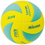 ミカサ バレーボール 軽量4号球 レッスンバレー EVA 約160g 黄 緑 SLV4-YLG