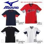 ミズノ ジュニア用ベースボールシャツ 野球 ハーフボタン・小衿タイプ 52MJ451 取寄 少年用