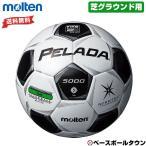 名入れ可(有料) モルテン サッカーボール ペレーダ5000芝用 検定球 5号球 スノーホワイト×メタリックブラック