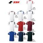 ショッピングSSK SSK 野球 練習着・ユニフォーム ジュニア・2ボタンプレゲームシャツ BW2200J 少年用 受注生産