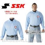 ショッピングSSK SSK 野球 審判用長袖ポロシャツ UPW028