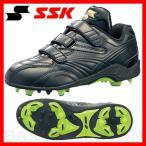 ショッピングSSK SSK ジュニア用スパイク 樹脂底固定ポイント スタルキー 19.0-23.0cm ブラック×ブラック BPL445-9090 少年用 メンズ